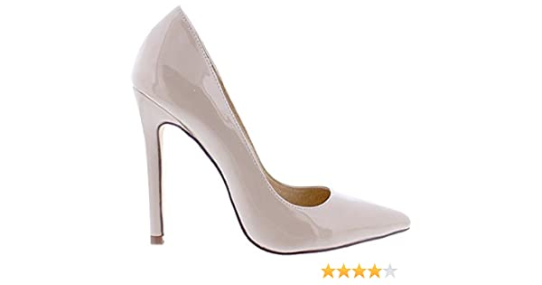 03c8a1a2411 Liliana Angie-8 Women Pointed Pointy Toe Stiletto High Heel Slip On Pumps