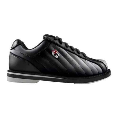 Die Kicks-Bowlingschuhe der Männer 3G Schwarz