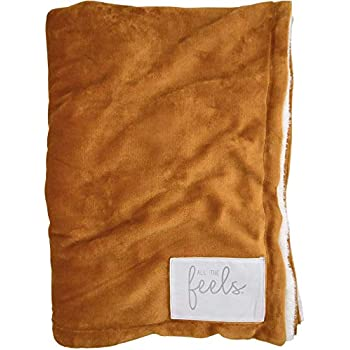 Amazon Com All The Feels Extra Cozy Reversible Blanket