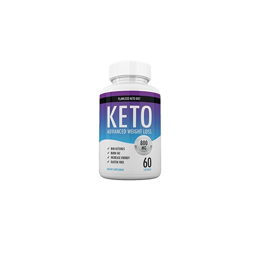 Flawless Keto Diet Advanced Weight Loss Supplement Ketogenic Fat Burner Supports Healthy Weight Loss Burn Fat Instead of Carbs 30 Day Supply