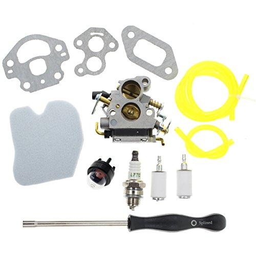 Carbhub Carburetor for Husqvarna 235 235E 236 236E 240 240E Chainsaw Jonsered CS2234 CS2238 CS2234S CS2238S RedMax GZ380 Zama C1T-W33C 574719402 545072601 545061801 with Air Filter Tool kit by Carbhub