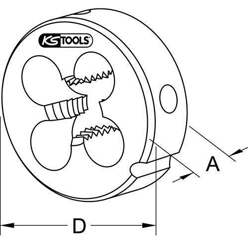KS TOOLS 332.0100 Fili/ère extensible HSS M10