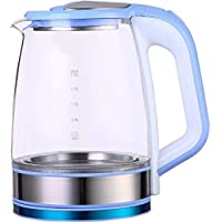 Flamngo FM-4003 Electric Glass Kettle - 2.2 Liters, Blue