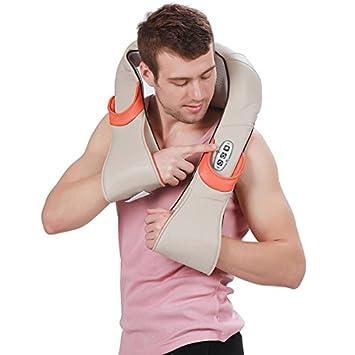 Amazon.com: Taiji Roller Shiatsu masajeador con calor para ...