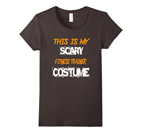 Womens This is My Scary Fitness Trainer Costume TShirt Halloween Medium (Fitness Trainer Costume)