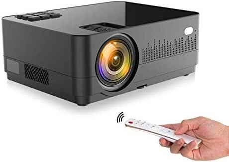 Opinión sobre Proyector Full HD Soporte Unicview HD 450 Android Bluetooth 4.800 lúmenes LED, Maxima luminosidad Portátil LED Cine en casa AC3 HDMI USB MKV Sin Input Lag Corrección Horizontal y Vertical
