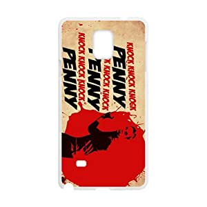 Happy Knock Penny Design Personalized Fashion High Quality Phone Case For Samsung Galaxy Note4