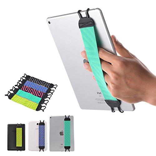 Holding Strap - TFY Security Hand-Strap for Tablets, iPad, & e-Readers - Apple iPad, iPad 4 iPad Air (iPad Air 2), iPad Mini - iPad Pro 9.7