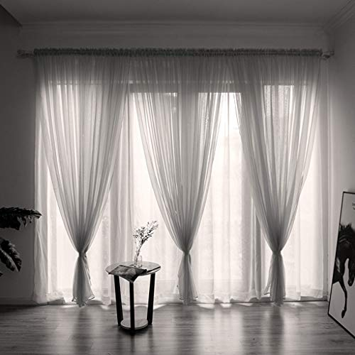 (Yucode Voile Sheer Curtain 78