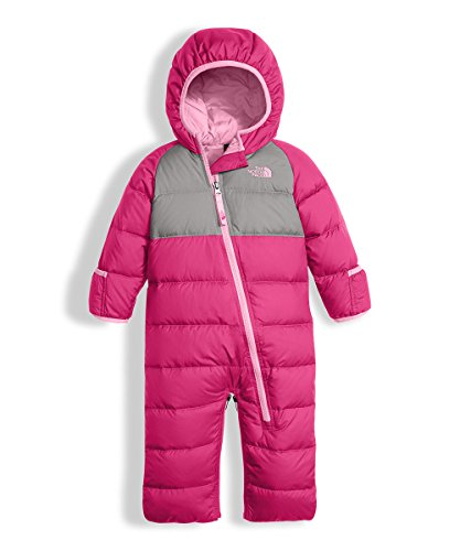 The North Face Baby Girls' Lil' Snuggler Down Bunting - petticoat pink, 6 by The North Face