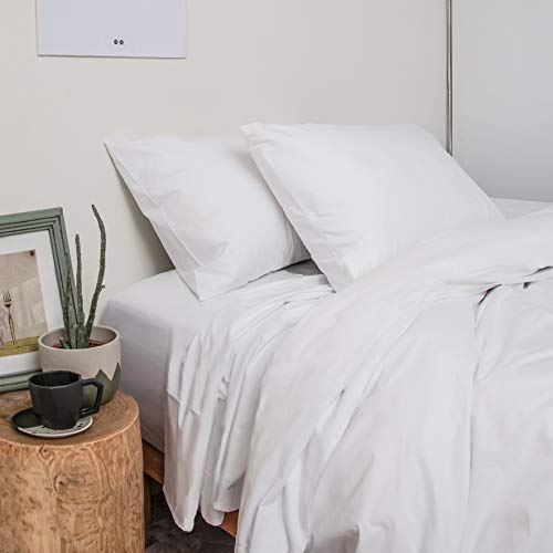Peru Pima Luxury 285-Thread-Count Pima Cotton Sheets-Queen