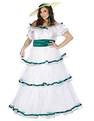 Southern Belle Adult Costume Plus Size White]()