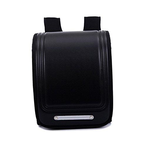 Japanese Primary and Secondary School Bag Children Backpack Burden Reduction Shoulderbag Shoulder Bag-Black