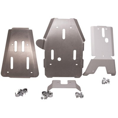 3-Piece Full Frame Skid Plates, Yamaha Grizzly 550 & Grizzly 700