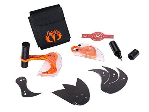 Raptorazor Hydro Dipped Big Game Skinner and Mano Hunting Knife Combo