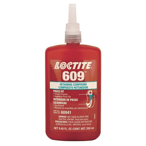 LOCTITE 6098482; Retaining Compound - General Purpose - MODEL : 60941 Container Size: 250 ml. Bottle by Loctite