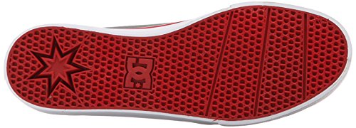 DC TRASE TX M SHOE DSD - zapatilla deportiva de lona hombre gris/negro/rojo