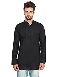 Maple Clothing Cotton Dress Mens Short Kurta Shirt India Fashion Clothes