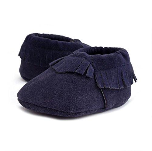 Lauflernschuhe Baby Schuhe Vlunt 18 Schuhe Krippe Monate Casual Babyschuhe Quasten Navy 0 rqI5wBx05
