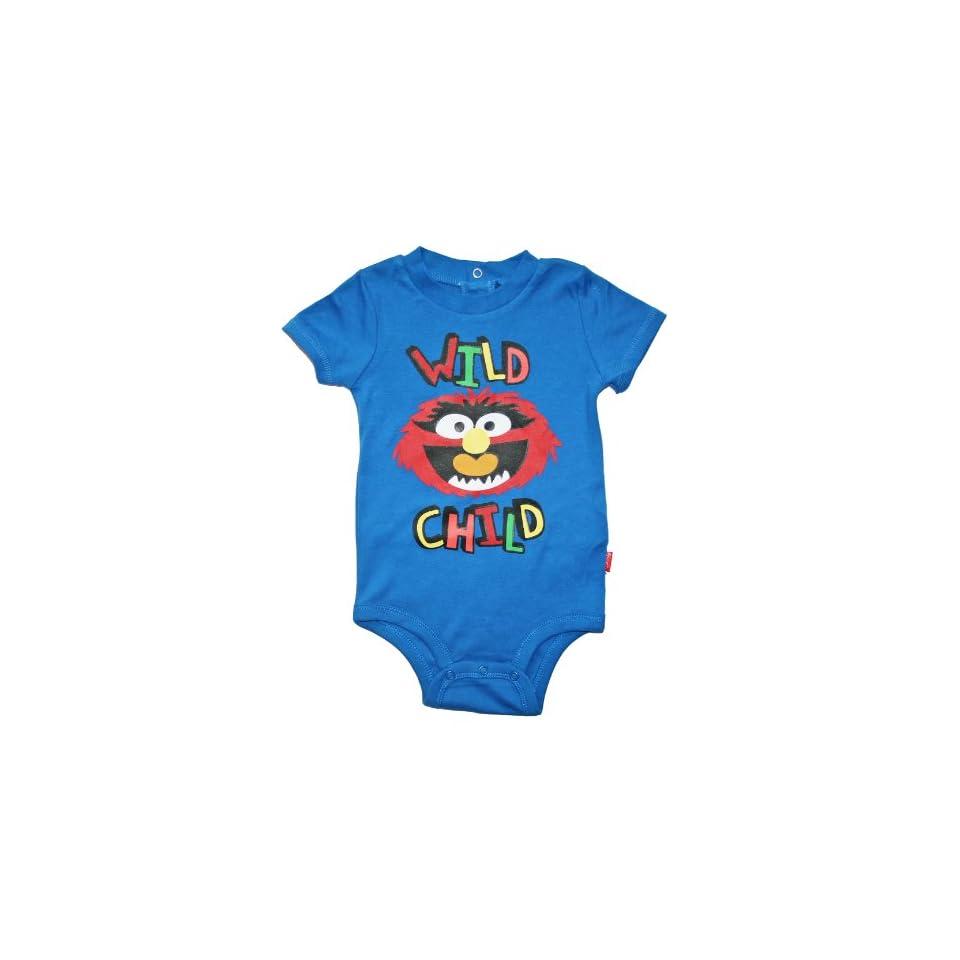 Disney the Muppets Wild Child Baby/Toddler Bodysuit (6 9