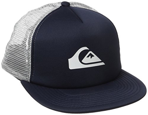 Quiksilver Men's Snap Addict Trucker Hat, Navy Blazer, One (Mesh Blazer)