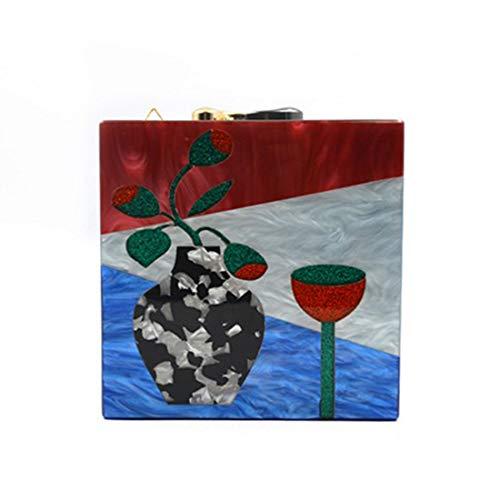 de sac sac cousu 02 d'épaule Iudrfgsd sac de Sac petit de acrylique couture femelle qfnTPI