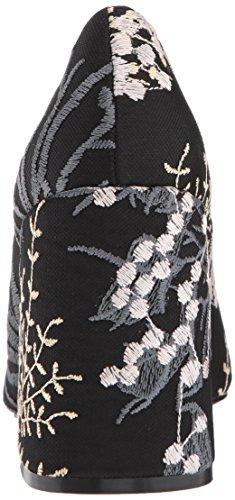 Floral Hester Shellys Women's Black Pump London xvn8v4