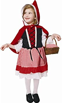 Dress Up America Disfraz de Caperucita Roja para Niños Lil: Amazon ...