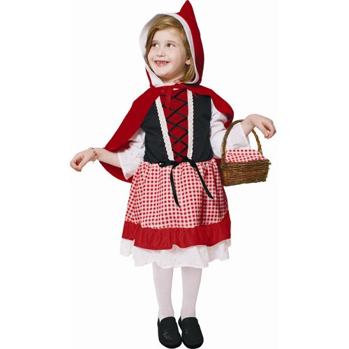 Toddler Red Peasant Dress (Lil' Red Riding Hood - Toddler 2)