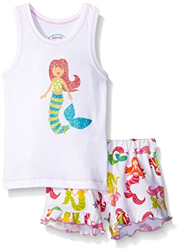Saras Prints Girls Short Pajama