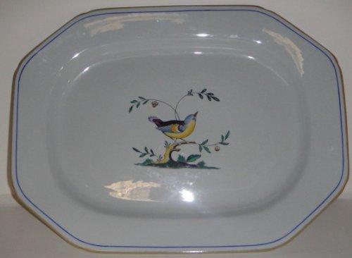 Spode Queens Bird (Y4973 Older) Oval Platter 16