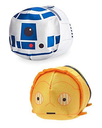 Mini Tsum Tsum Plush Star Wars Bundle Set of 2 Droid Tsum's
