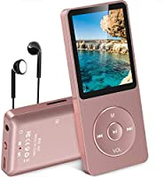 [Lastest UI] AGPtEK 70 Hours Music Playback MP3 Lossless Sound Entry Hi-Fi 8GB Music Player (Supports up to 64