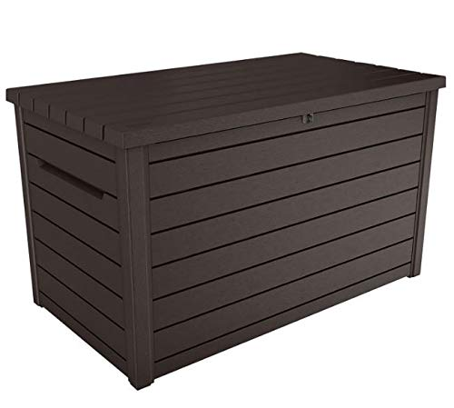 Keter XXL 230 Gallon Plastic Deck Storage Container Box Outdoor Patio Garden Furniture 870 Liters
