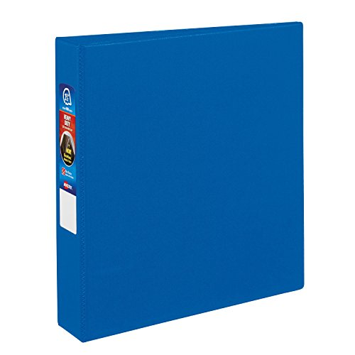 Avery Heavy-Duty Binder with 1.5-Inch One Touch EZD Ring, Blue (79885)