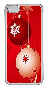 iPhone 5C Case Christmas Design PC iPhone 5C Case Cover Transparent