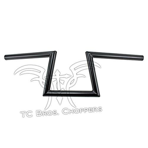 1 Slant Z Handlebars Black Dimpled TC Bros
