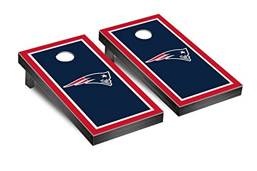 NFL New England Patriots Border Version Football Corn hole Game Set One Size [並行輸入品]