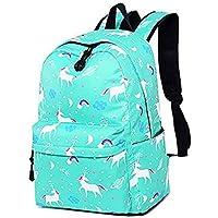 Teen Girls Backpack Unicorn Casual Laptop Daypack School Student Book Bag School Bags Travel Rucksack Fit 15.6 in Laptop