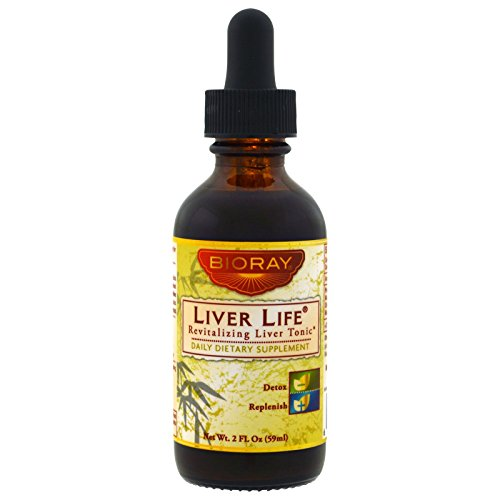 BioRay Inc., Liver Life, Revitalizing Liver Tonic , 2 fl oz (59 ml) - 3PC by BIORAY