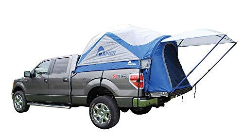 Sportz Truck Tent Blue/Grey (Full Size Crew Cab 5.5-Feet Box) (Air Mattress For Toyota Tacoma Short Bed)