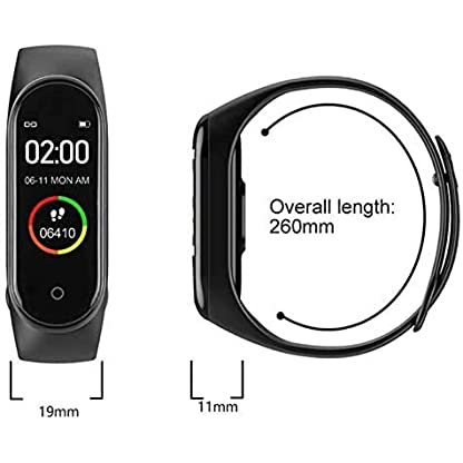 Activity Tracker, Fitness Tracker with Heart Rate Monitor,5ATM Water Resistance HD Touch Screen Smart Watch,Sleep… 2