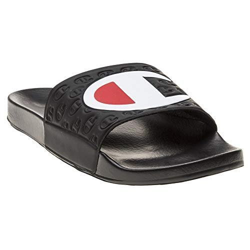 Champion Multilido Mens Black Slides-UK 10.5-11 / EU 45-46 ()