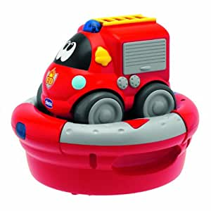 Chicco - Charge & Drive, coche bomberos (00069025000000)
