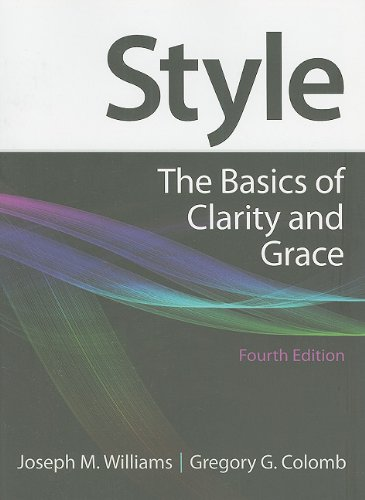 Style: The Basics of Clarity and Grace, 4th Edition