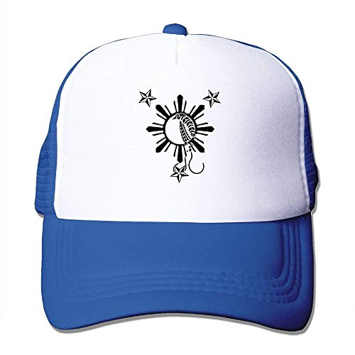 1 rongxincailiaoke of by Two Bird Adjustable béisbol Mesh Trucker Filipino Paradise Gorras Hat Tone Hat Sun rRPqrx