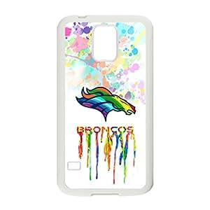 Fashion Design Denver Broncos Art Painted Artsy Artistic Colorful Custom Case for Samsung Galaxy S5 Cases