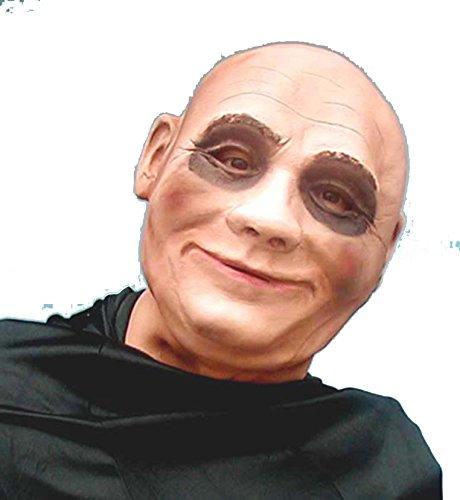 Uncle Fester Foam Latex Mask (Simple Devil Costume Makeup)