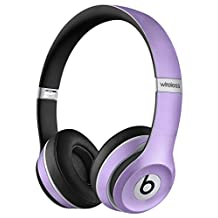 Snake Texture PU leather Skin for beats solo 2 headphone, Light Purple Color
