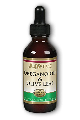 Lifetime Oregano Oil & Olive Leaf Supplements, 2 Fluid Ounce